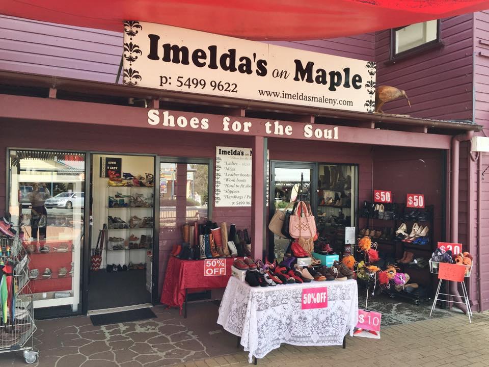 Imeldas on Maple storefront