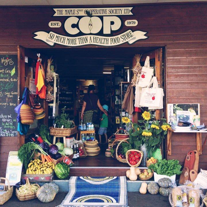 Maple Street Co-operative store